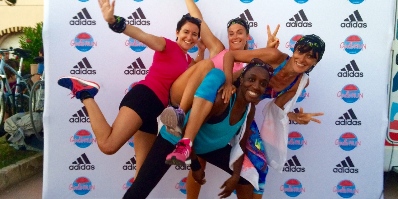Ambiance fun à Saint-Cyr-sur-Mer avec le Girls Run Summertour
