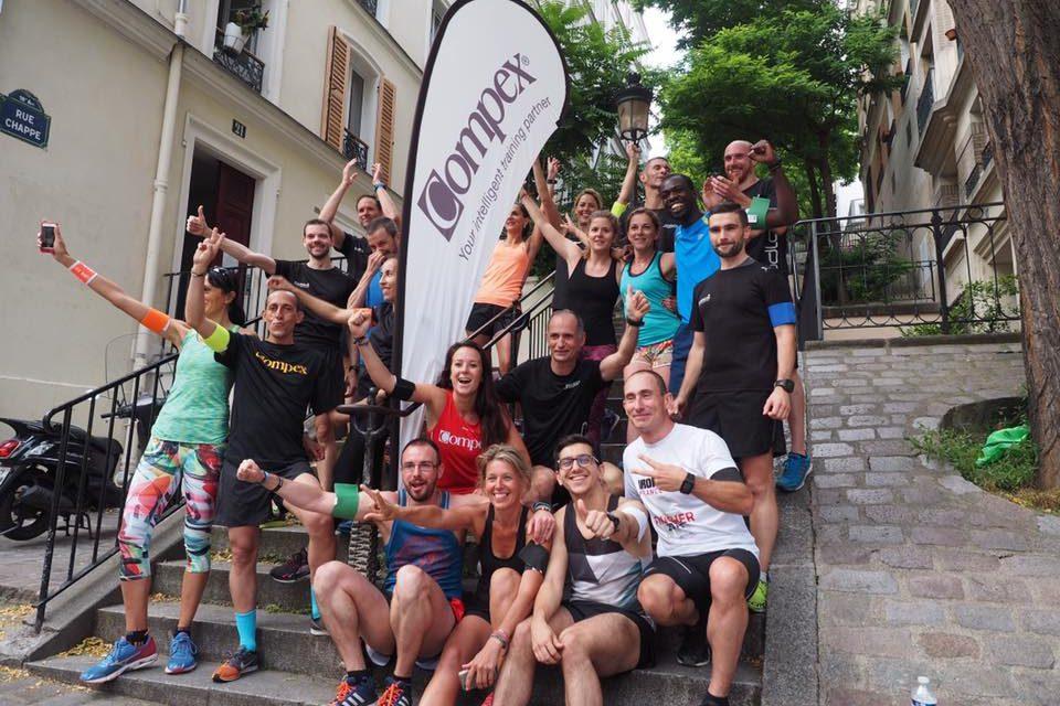 Challenge Compex, les marches de Montmartre à l'honneur