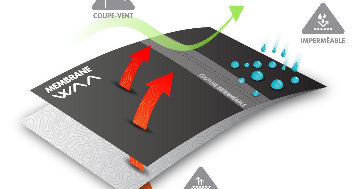 L'Ultra Rain Jacket WAA, une veste poids plume VS le poids des intempéries