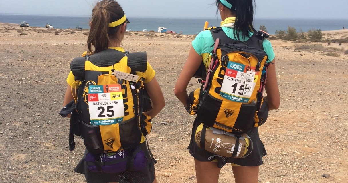 Une Bee au Half Marathon des Sables. Chapter 1 : installation