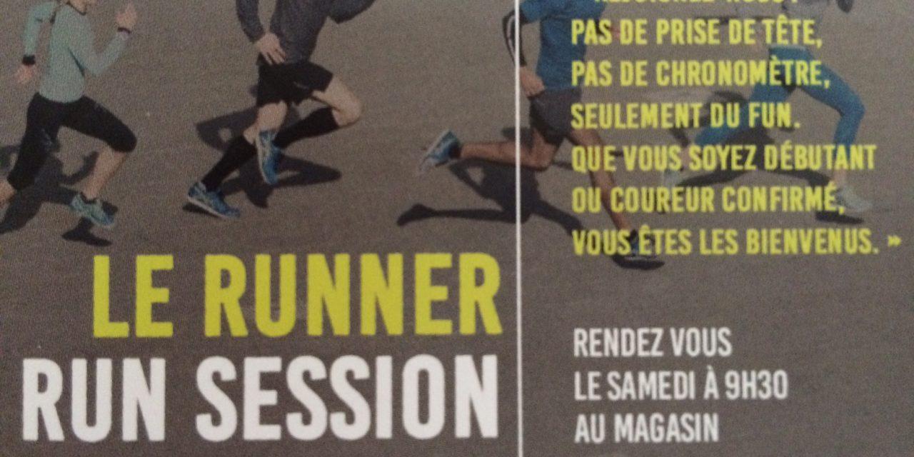 Les run sessions conviviales du Runner de Pontoise