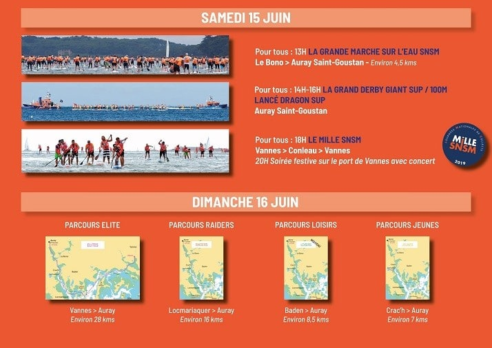 Programme du Morbihan Paddle Trophy