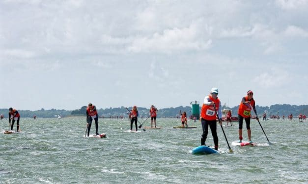 SNSM Morbihan Paddle Trophy. Part III : podium sur une course de stand up paddle