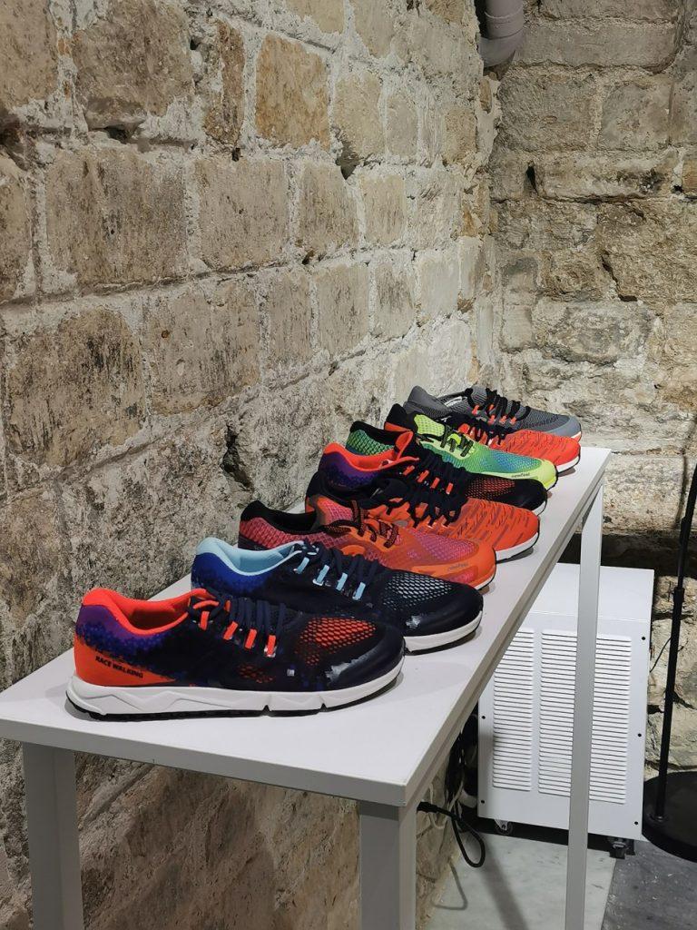 Déclinaison de la gamme de chaussures Newfeel