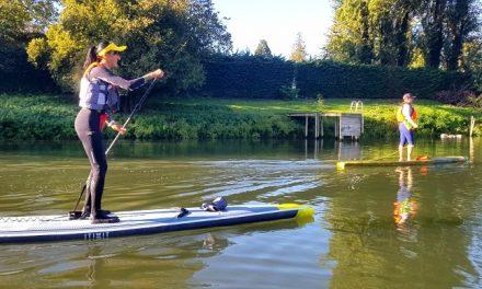 l'AVENTURE de la dordogne integrale en stand up paddle – PART II