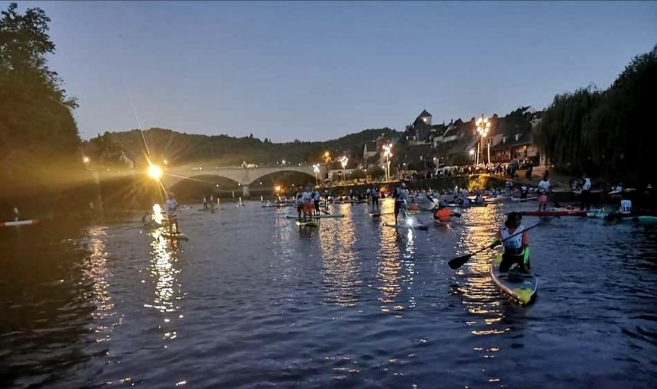 Départ de la Dordogne Intégrale dans la nuit