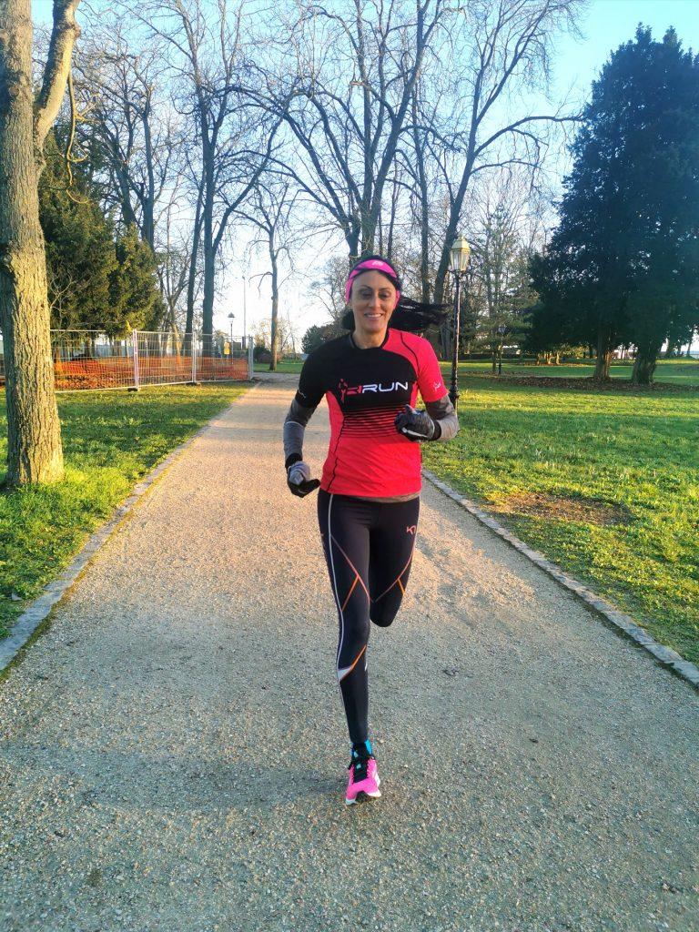 Run dans le parc de Conflans
